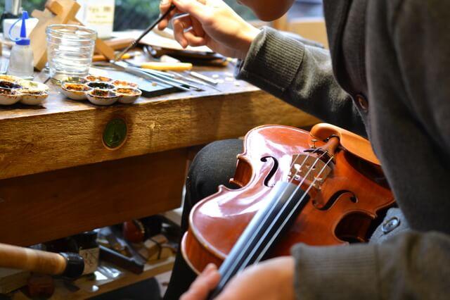 弦楽器修理
